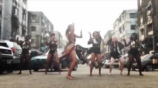 CIARA & HER DANCERS DANCING TO DURO & KUKERE ON THE STREET OF LAGOS