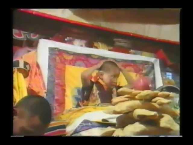 HH 17th Karmapas Return to Tsurphu Monastery 1992