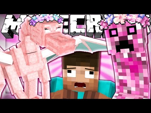 Thumbnail: If Minecraft Mobs were Girls