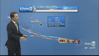 Sat Hurricane Lane Update