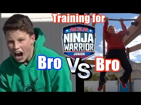 Bro vs Bro Ninja competition!