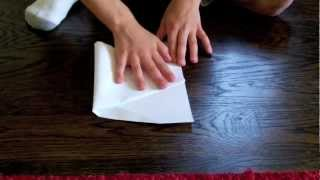 how to make the hammer paper airplane