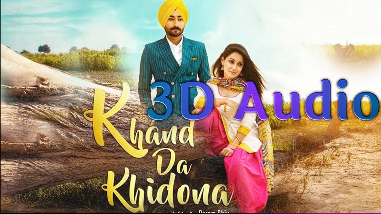 Khand Da Khidaona Ranjit Bawa 3d Punjabi Song Ik Tare Wala 2018 Youtube