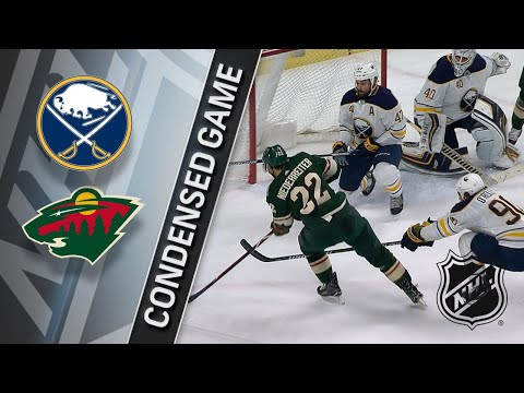 01/04/18 Condensed Game: Sabres @ Wild