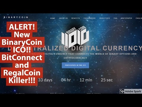 ALERT! Binary Coin ICO!!! Review SCAM Or REAL?!!!