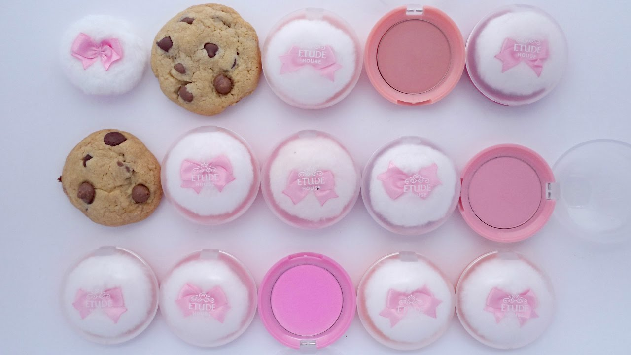Review Etude House Lovely Cookie Blusher