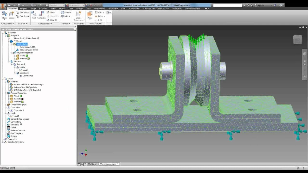 Introduction to Autodesk Nastran In-CAD - YouTube