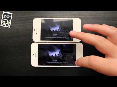 iPhone 5 vs iPhone 4s - скорость и многозадачность
