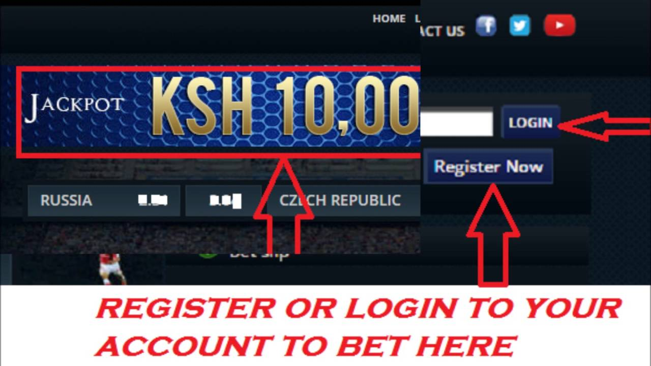 Sportpesa Football Betting Tips - Placing a Bet Using the website