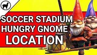 Soccer Stadium Hungry Gnome Location | Fortnite Battle Royale | Season 4 Week 8