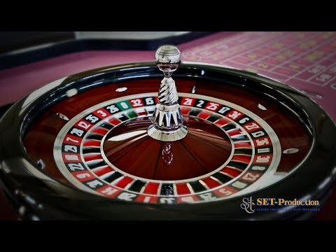 Standard roulette wheel highest number
