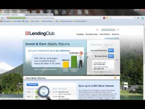 Lending Club Review as a Peer 2 peer social lending network