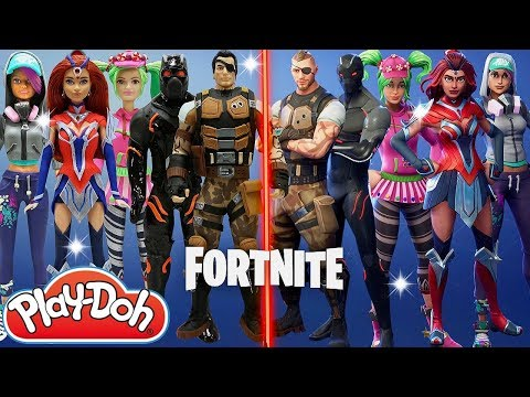 Fortnite Play Doh Inspired Costumes