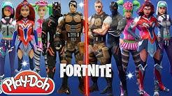 fortnite play doh outfit challenge zoey valor teknique battlehawk omega new skins season 4 duration 15 56 - fortnite season 4 valor