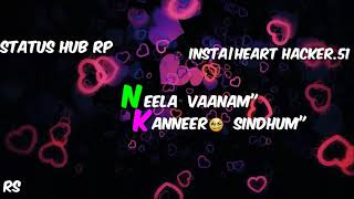 💝New tamil love whatsapp status|orasaadha new lyrical |dj remix status| status hub rp