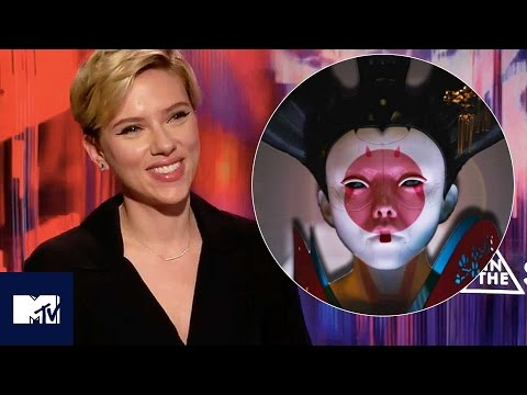 Ghost In The Shell GEISHA FIGHT Behind The Scenes With Scarlett Johansson | MTV Movies