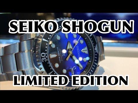 Seiko ZIMBE Shogun Limited Edition SPB057 SPB057J