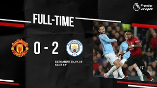 Manchester United vs Manchester City 0-2 Highlights & All Goals - 2019 HD