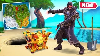 SECRET TREASURE CHEST *FOUND* In Season 8 Fortnite!