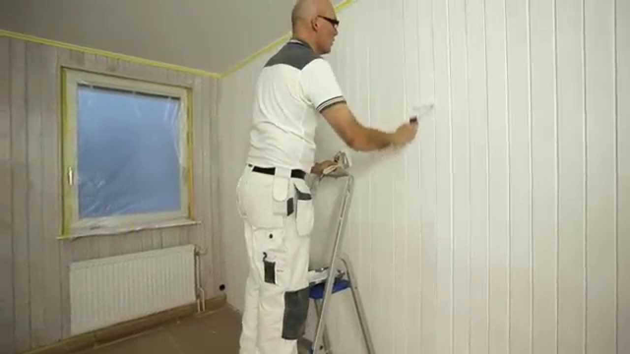 Painting Wooden Panelling Step By Step Youtube