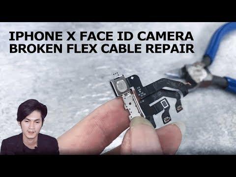 IPhone X Face ID Infrared Camera Broken Flex Cable Repair