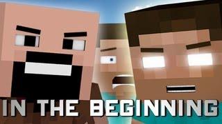 In The Beginning (Minecraft Machinima)