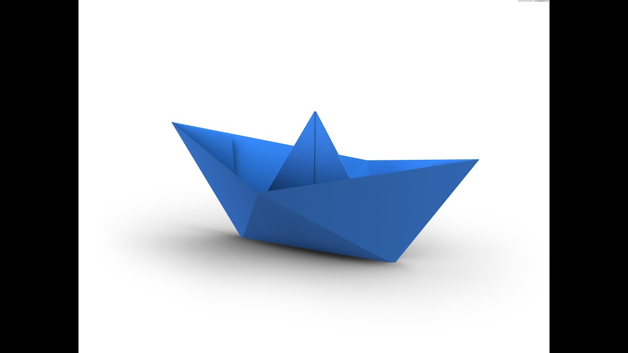 How To Make A Simple Origami Boat That Floats HD