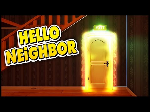 Hello Neighbor - Secret Ending & Second House Theories? -  Let's Play Hello Neighbor Gameplay