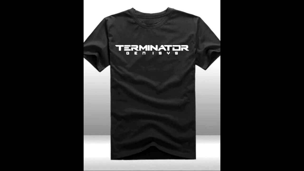 terminator genisys t shirt youtube. Black Bedroom Furniture Sets. Home Design Ideas