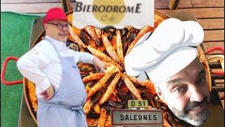 La paella du bierodrome Salernes