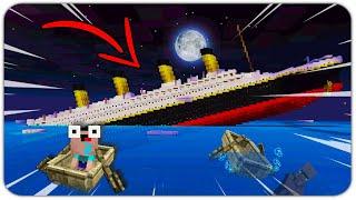 NOOB SURVIVAL on THE TITANIC SHIP ( *FAIL* )