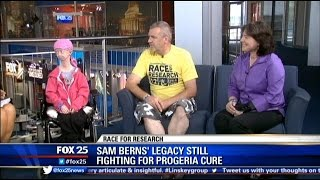Video Sam Berns' legacy remains in fight for Progeria cure download MP3, 3GP, MP4, WEBM, AVI, FLV September 2018
