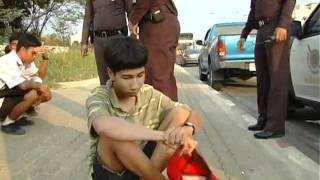 ปทุมธานีจับ12 นักเรียนขาสั้นก่อเหตุไล่ตีกันกันทำประวัติ