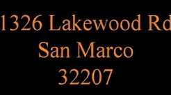 1326 Lakewood Road Jacksonville Fl 32207 San Marco (On The Duck Pond)