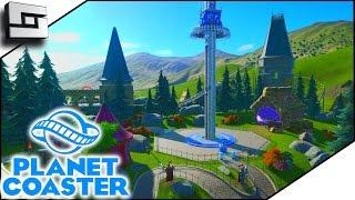 BEAUTIFUL GRENDEL! - Planet Coaster Gameplay #8 | Sl1pg8r