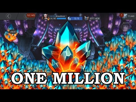 1 MILLION PHC SHARDS   Marvel Contest of Champions