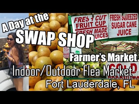 A Day at the SWAP SHOP - Fort Lauderdale, FL