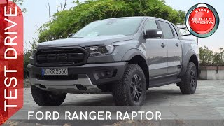 Ford Ranger Raptor a Ruote in Pista