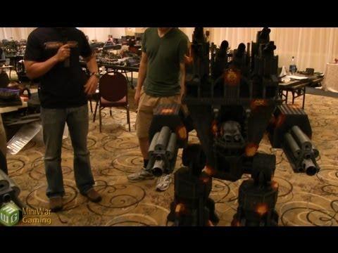 40k Emperor Class Titan - Close Up Look - YouTube