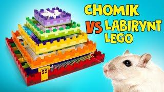 Jak Zbudować 5-Poziomowy Labirynt Z Lego Dla Chomika! 🐹🧱🎁