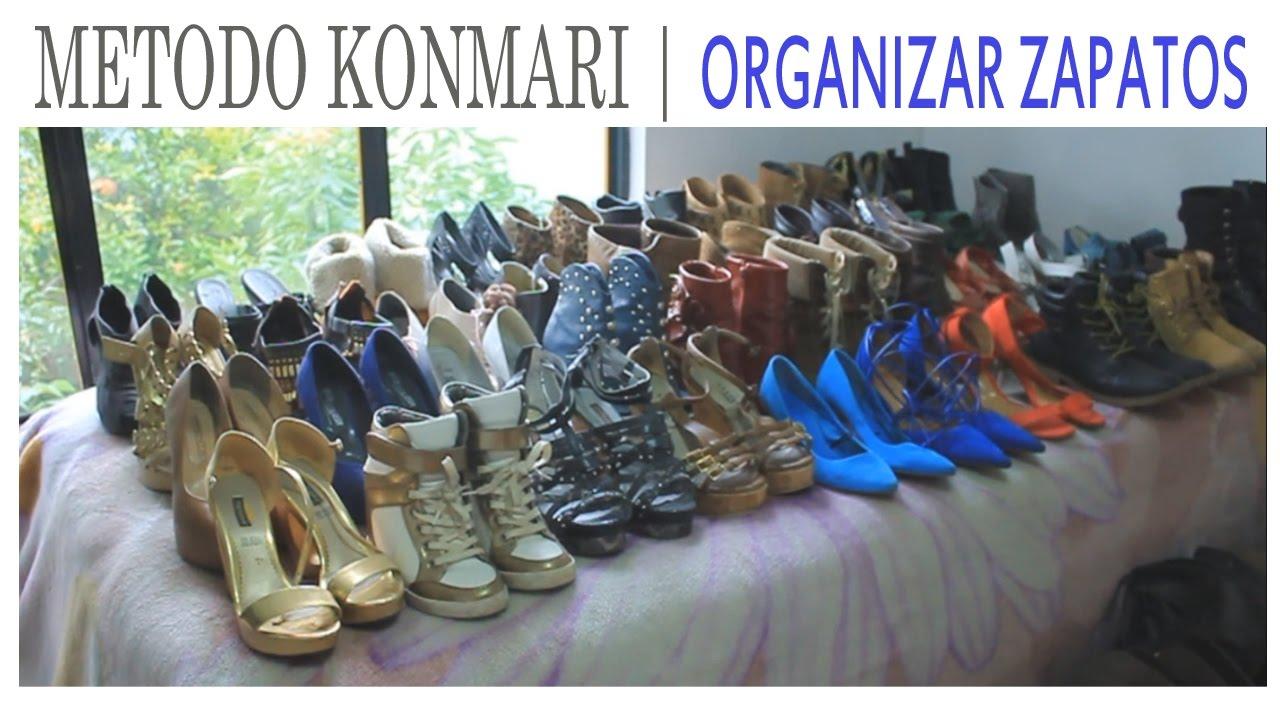 konmari metodo organiza tus zapatos 5 suemylucio youtube