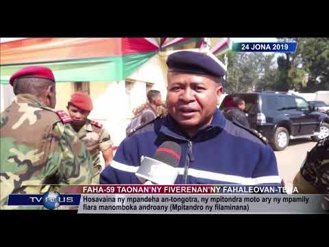 VAOVAO DU 24 JUIN 2019 BY TV PLUS MADAGASCAR