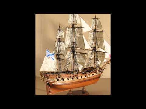 парусник в бухте. как нарисовать корабль А.Южаков а17