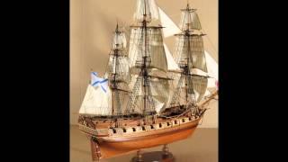 Деревянные модели кораблей ручной работы