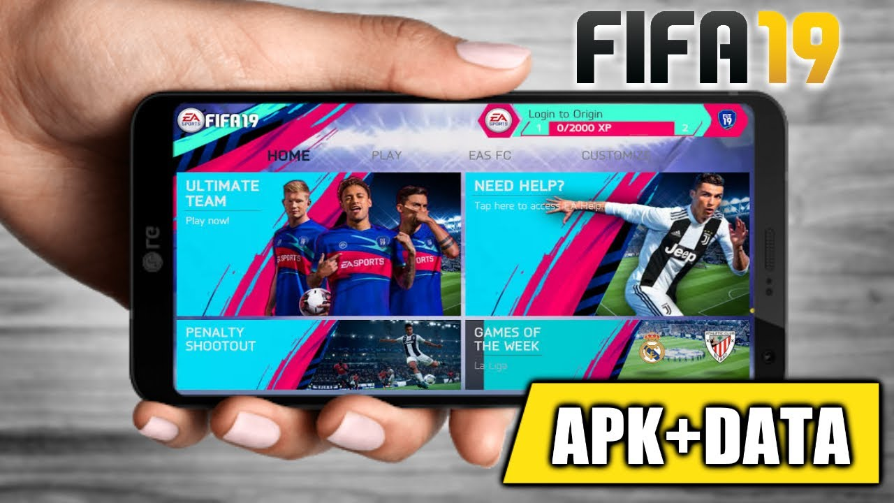 FIFA 19 Download on Android devices | Apk +Data