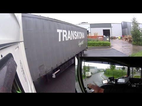 96.Célegyenesben.Nemzetközi kamionsofőr élete.13.rész.