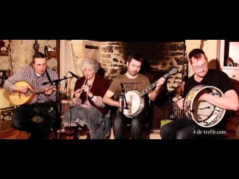4 de Trèfle musique irlandaise. Donnybrook Fair (jigs)