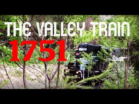 CONWAY SCENIC RAILROAD: THE VALLEY TRAIN WITH 1751