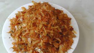 Рецепт жареной капусты - на все случаи жизни!