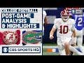 SEC Championship Post-Game Highlights & Analysis: #1 Alabama vs #7 Florida | CBS Sports HQ